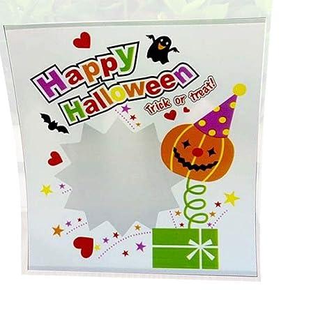 Hacoly Halloween Bolsas para Dulces Dulces Bolsas de Comida ...
