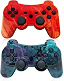 Wireless Controller for Playstation 3,PS3 Gamepad Six-axis Gaming Joysticks, up to 10m Remote Control, Support Windows…