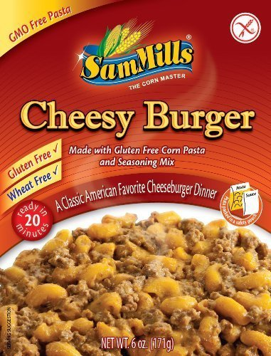 e Dinner Kit, Cheesy Burger (Case of 12) (Gluten Free Dinner)
