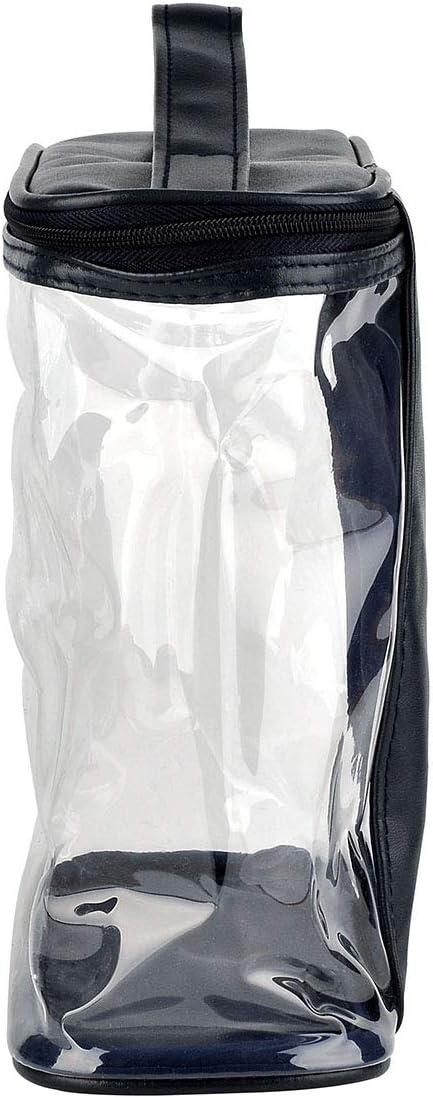 Bleu fonc/é Faletony Trousse de Toilette Pochette Maquillage Cosm/étiques de Organisateur Voyage Transparent Sac de Rangement /Étanche pour Avion Gymnastique Business Vacance