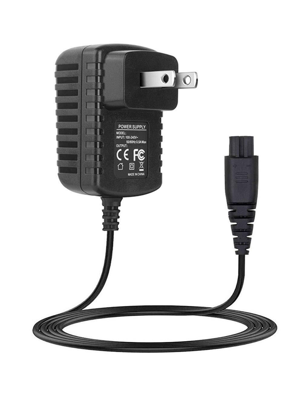 Power Cord for Remington Shaver HC4250 HC5870 PF7500 PF7600 Replacement Charger for Remington Razor PG6170 PG6250 4.5ft Extra Long Charging Cord for PF7600 F8 Comfort Series XR1400 PR1240