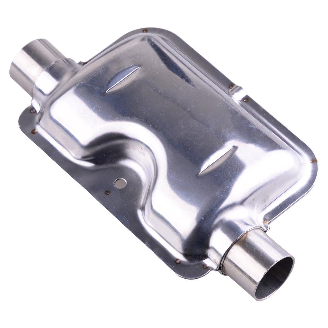 beler Silencieux diesel de silencieux d/échappement de chauffe-eau dacier inoxydable de 24mm 0.9inch