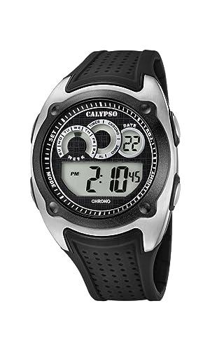 Calypso Reloj Digital para Hombre de Cuarzo con Correa en Plástico K5722/4: Calypso: Amazon.es: Relojes