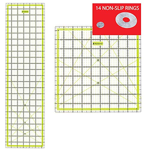 R48G Omnigrid Ruler Value Pack R12 3 Sizes: R1