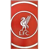 Liverpool 'Bullseye' Large Velour Beach Towel