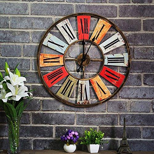 Outdoor Tile Clock - 2