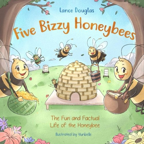 Five Bizzy Honey Bees