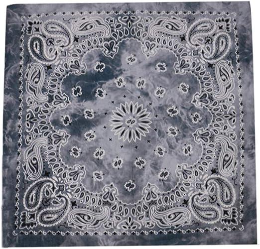 Unbran Amopp Pañuelo de algodón puro para la cabeza, pañuelo de ...