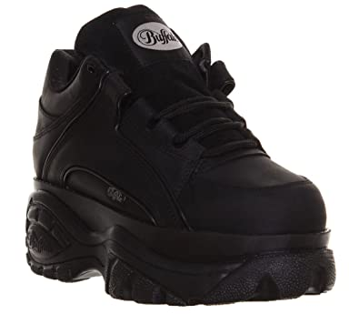 50409ef3bf4 Buffalo Women's Trainers Black Size: 3 UK: Amazon.co.uk: Shoes & Bags