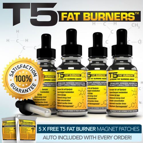 X4 T5 FAT BURNER SERUM - WORLDS MOST ADVANCED SLIMMING / DIET PILLS ALTERNATIVE by Weight Loss Supplements