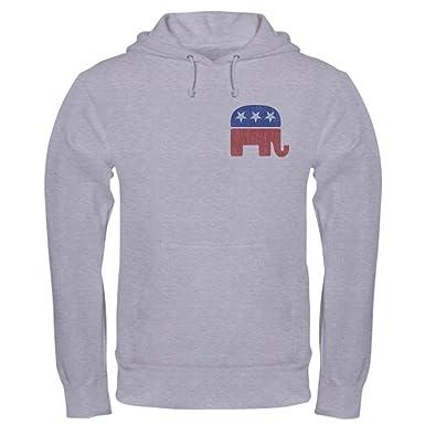 f649ff8ef Amazon.com  CafePress Old Republican Elephant Sweatshirt  Clothing