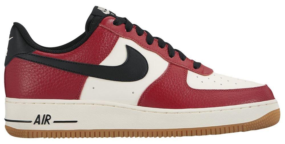 [ナイキ] Nike Air Force 1 Low - メンズ バスケット [並行輸入品] B071776CW4 US10.0 Gym Red/Black/Gum Light Brown/Sail