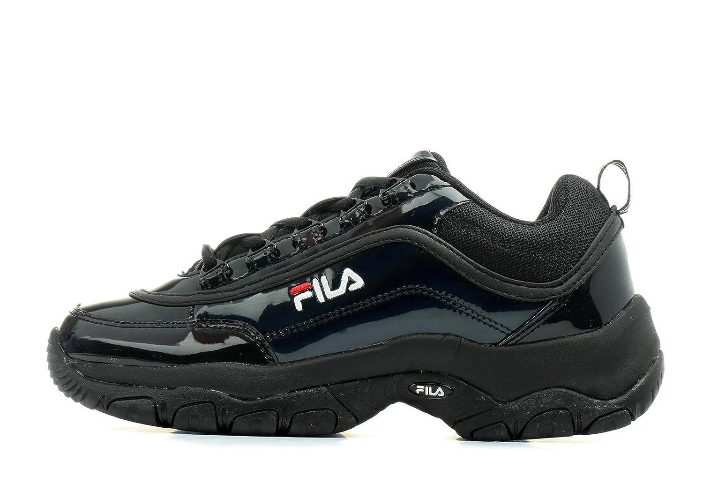 Fila 1010767 Damen Strada M Low Sneaker aus Lacklederimitat
