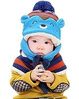 caps sciarpa cappuccio Coif, carino invernali ragazze bambino neonate cappelli di lana caldi