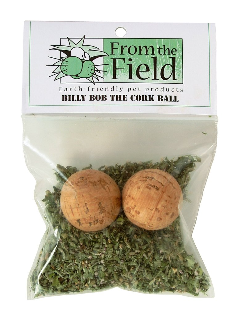 From The Field Billy Bob The Cork Ball Catnip Toy