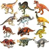 RICOV Dinosaur Toys, Toy Dinosaurs Kids Dinosaur Toys for Girls/Boys - 12Pack