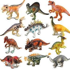 Dinosaur Toys, RICOV Realistic Looking 7