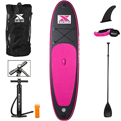 Amazon.com: Xterra inflables Stand Up Paddle Board con ...