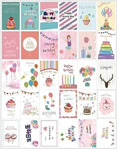 Anyingkai - Juego de 30 tarjetas postales con frases de motivación románticas postales, diferentes tarjetas postales, paisajes, tarjetas postales con frases: Amazon.es: Oficina y papelería