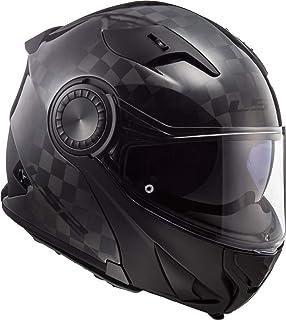 4d0f1d1e LS2 FF324.1 Metro Solid Flip Front Motorcycle Helmet: Amazon.co.uk ...