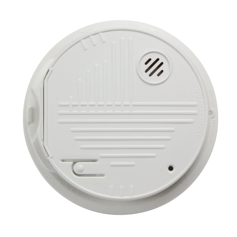 Gentex GN-300 Smoke Alarm, 120V Hardwired Interconnectable ...