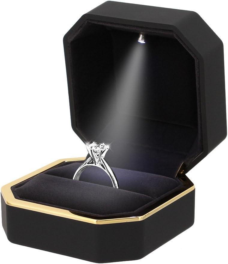 Engagement ring box