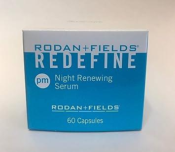 Amazon Com Rodan And Fields Redefine Night Renewing Serum 60 Caps