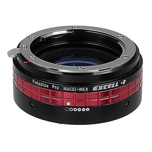 1 opinioni per Fotodiox Pro Nikon G (FX) Excell + 1lente per fotocamera Sony NEX–Excell +