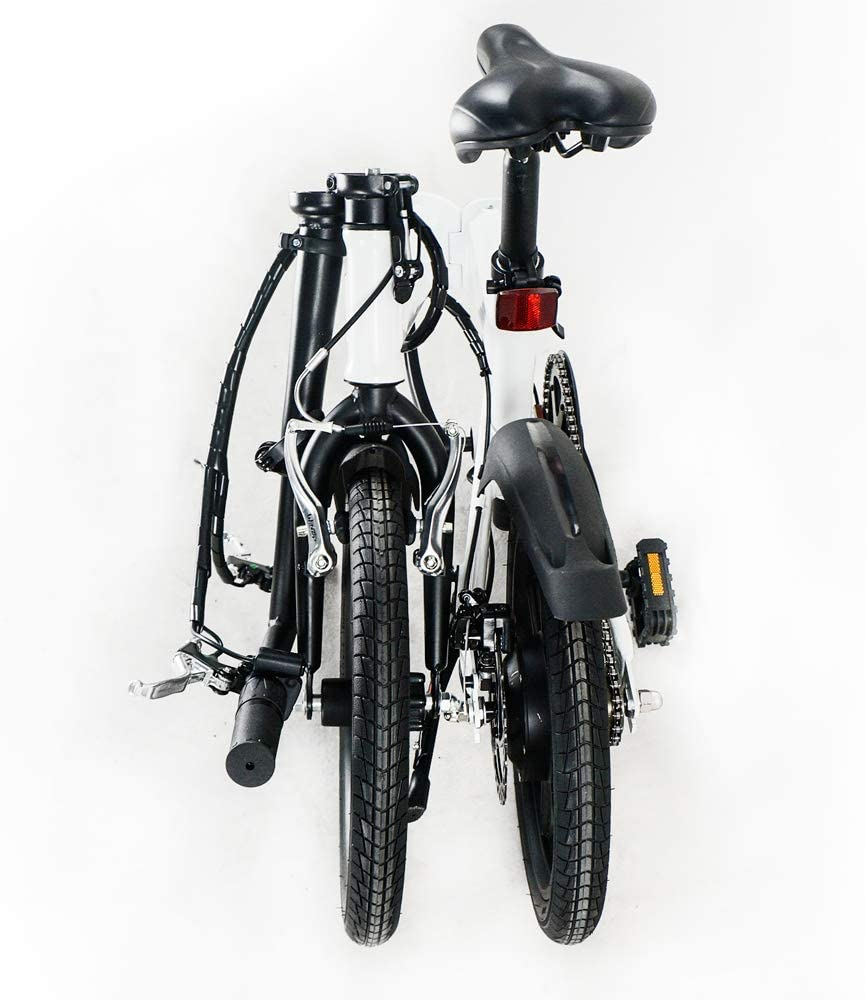 SMARTGYRO Ebike White - Bicicleta Eléctrica, Ruedas de 16