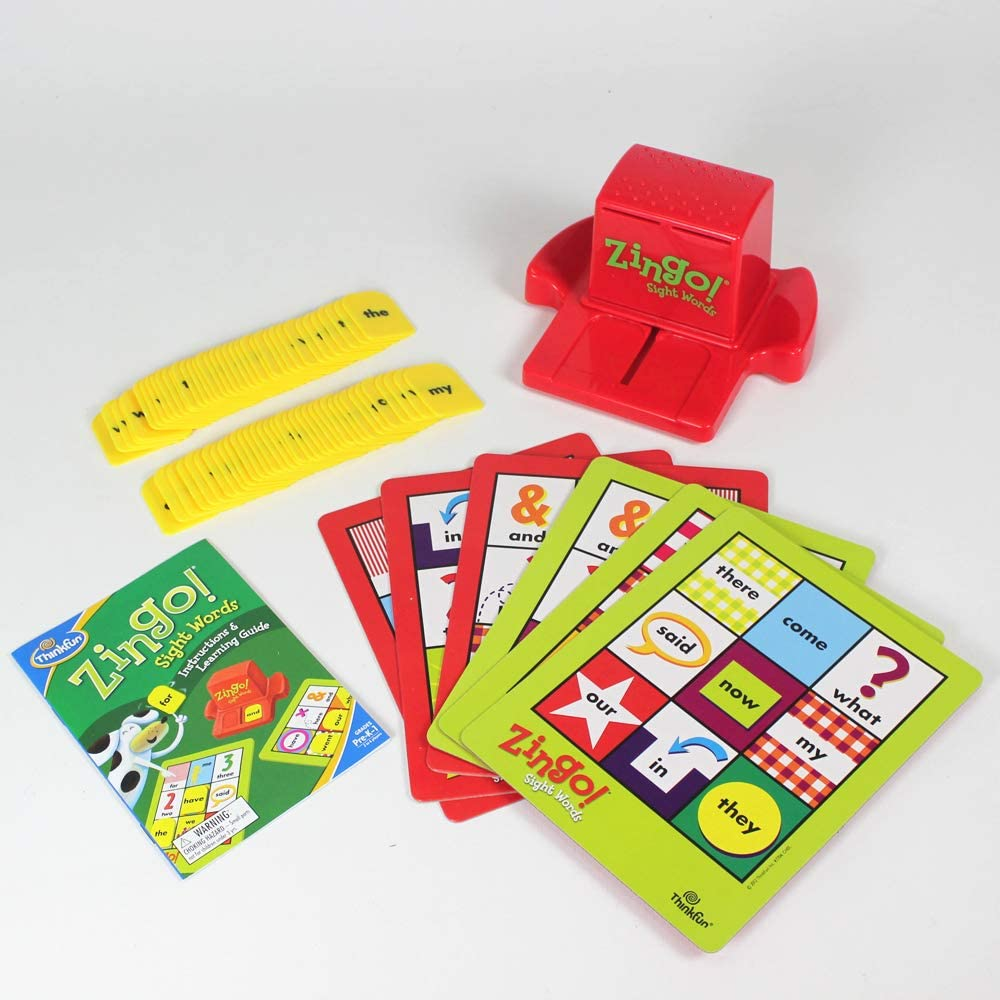 ThinkFun Zingo Sight Words Reading Game