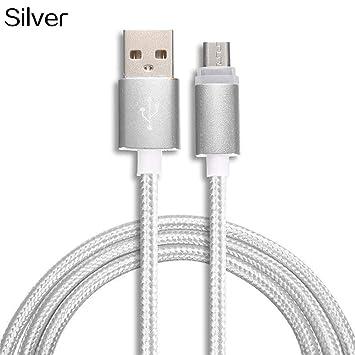 CFPACR 1/2/3 m Micro USB de Datos Sync rápida Cargador Cable ...