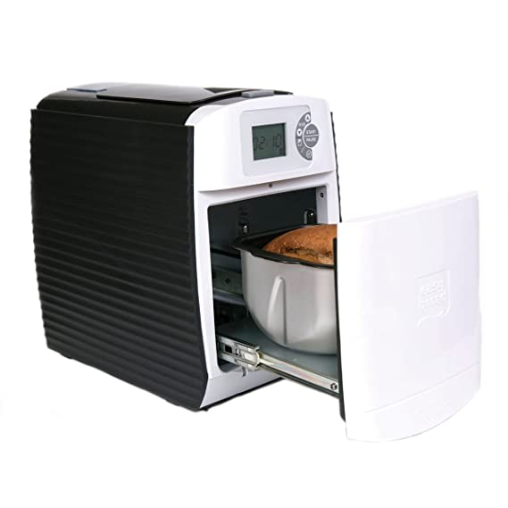 Pan fácil de Tivoli / pan horneado máquina fabricada de plástico de alta calidad / 34 x 25 x 36 cm / 500 vatios: Amazon.es: Hogar