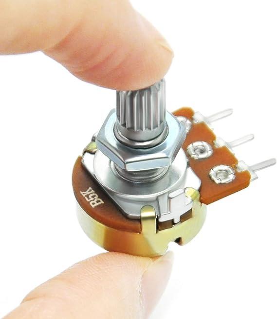 für den Einbau 500mW 20kΩ multiturn THT  ±10/% T93YB203KT20 THT-Po Potentiometer