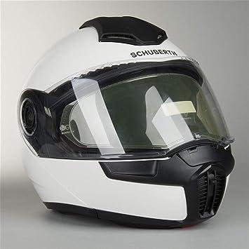 Casco modular para moto Schuberth E1 blanco (XL)