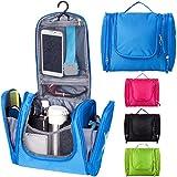Bago Hanging Toiletry Bag For Men & Women - Toiletries Travel Organizer (Blue)