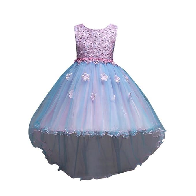 Xmiral Vestido de Princesa Sin Mangas para Fiesta Boda ...