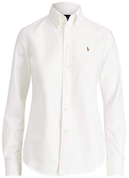 ralph lauren button down shirt women's