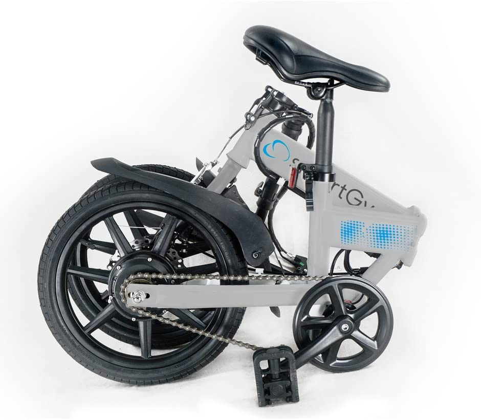 SmartGyro Ebike Silver - Bicicleta Eléctrica, Ruedas de 16 ...