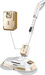 BOBOT Electric Mop, Hardwood Floor Cleaner Machine, Cordless, Spray, Rechargeable, 8900