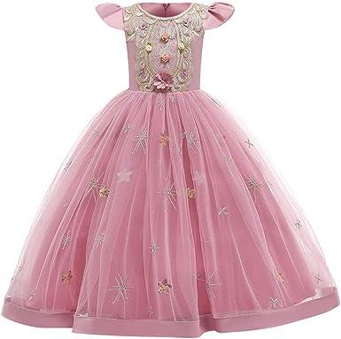 Flower Girls Princess Dress Pageant Dance Gown Wedding Graduation Party Birthday