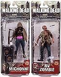 "McFarlane Toys The Walking Dead AMC TV Series TV Series 6 Set of 2 6"" Action Figures [Michonne & RV]"