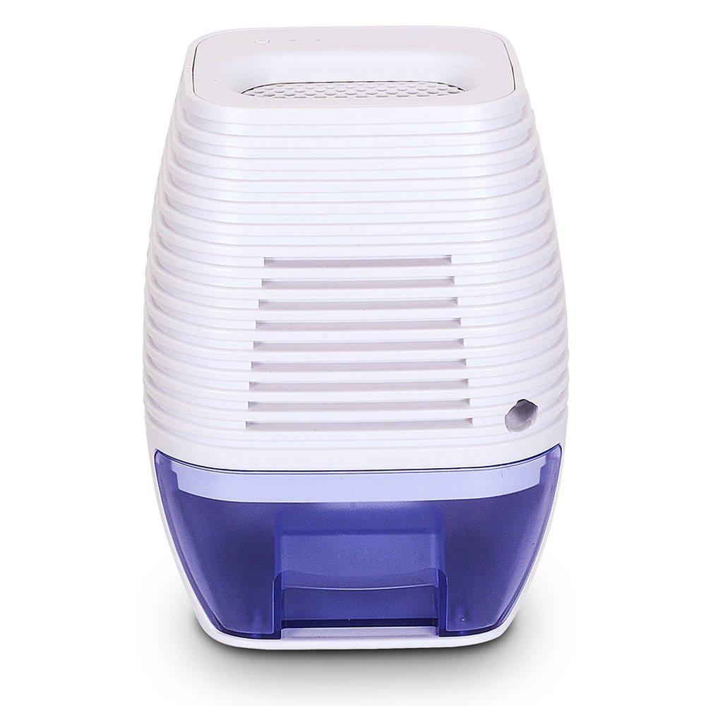 hysure Wardrobe Dehumidifier Mini Portable USB Dehumidifier Air Dehumidifiers for Wardrobe, Home, Damp Bedroom, 300ml Water Tank Moisture Absorbering Basement, Office, Kitchen, Garage