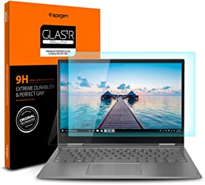Spigen Tempered Glass Screen Protector Designed for Lenovo Yoga 730 (13.3 inch) [9H Hardness]