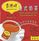 Hong Kong Style Black Tea (100 Tea Bags) English Breakfast Tea