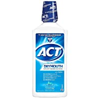 ACT Total Care Dry Mouth Anticavity Fluoride Mouthwash Soothing Mint 33.80 oz (Pack...