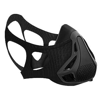Deporte Entrenamiento formación máscara, máscara de fitness con 4 nivel altura simulación de oxígeno Control