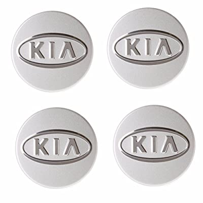 HYUNDAI Wheel Center Hub Cap Set 4P KIA Forte/Koup Soul Optima Sportage OEM Parts: Automotive