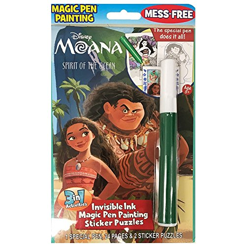 Disney's Moana Invisible Magic Ink and Sticker Set -