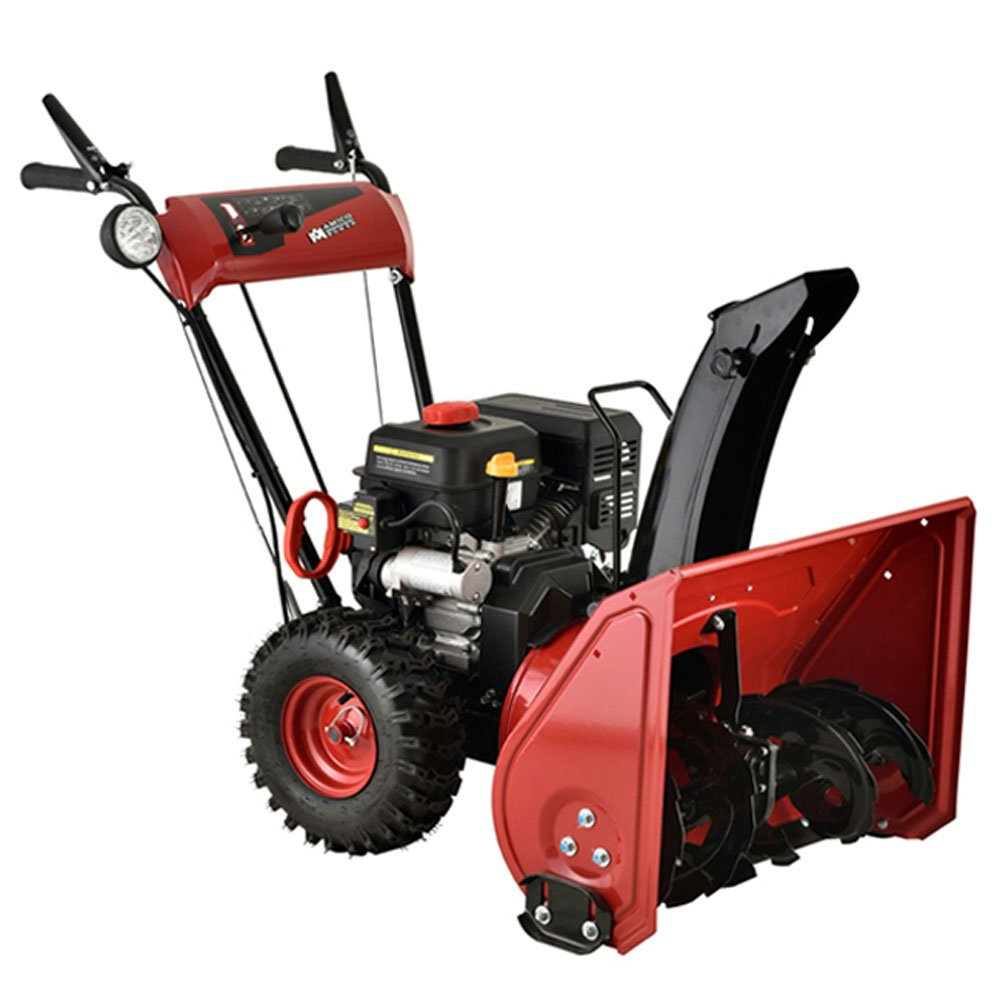 Amico Power 24'' 212cc 2 Stage Electric Start Gas Snow Blower/Snow Thrower