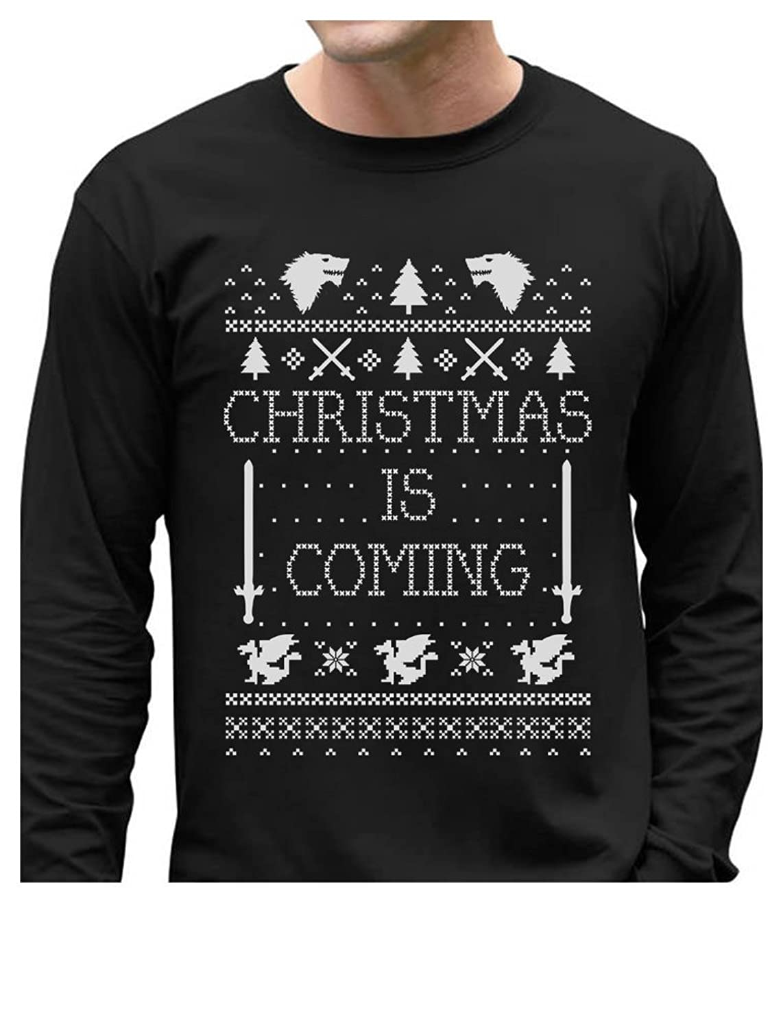Christmas Is Coming Ugly Christmas Sweater Long Sleeve T-Shirt